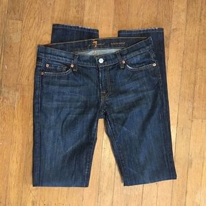 7 For All Mankind Roxanne fit straight leg jeans